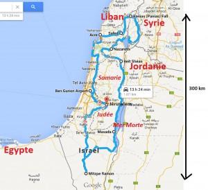 Carte Israël GooMap